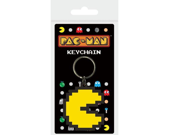Pac-Man (Pixel) Rubber Keychain - Μπρελόκ