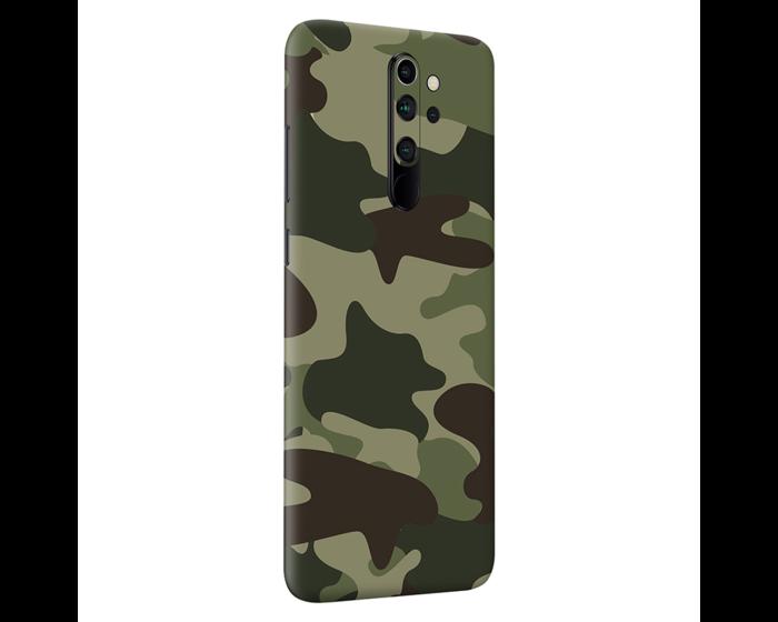 PapsCover Skin & Wrap Sticker Αυτοκόλλητο - Green Camo Skin (Xiaomi Redmi Note 8 Pro)