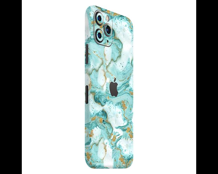 PapsCover Skin & Wrap Sticker Αυτοκόλλητο - Turquoise Marble Skin (iPhone 11 Pro)
