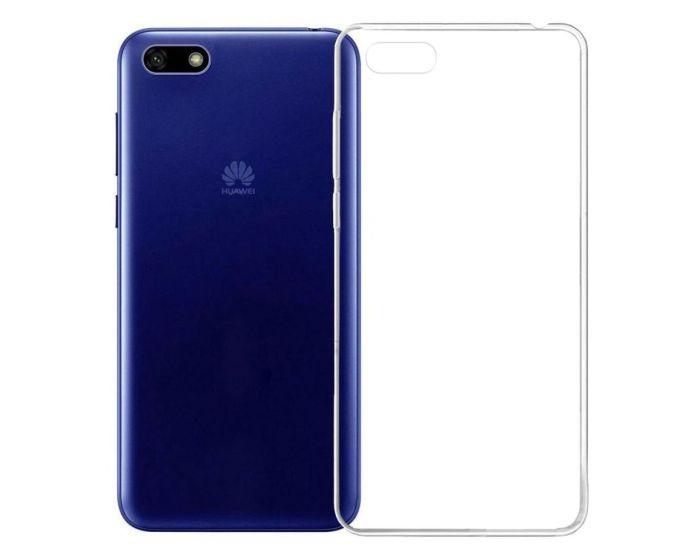 Ultra Slim 0.3mm Silicone Case Θήκη Σιλικόνης Διάφανο (Huawei Y5 2018 / Y5 Prime 2018)
