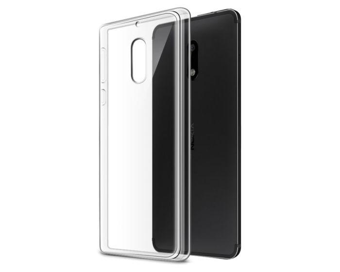 Ultra Slim 0.3mm Silicone Case Θήκη Σιλικόνης Διάφανο (Nokia 6)