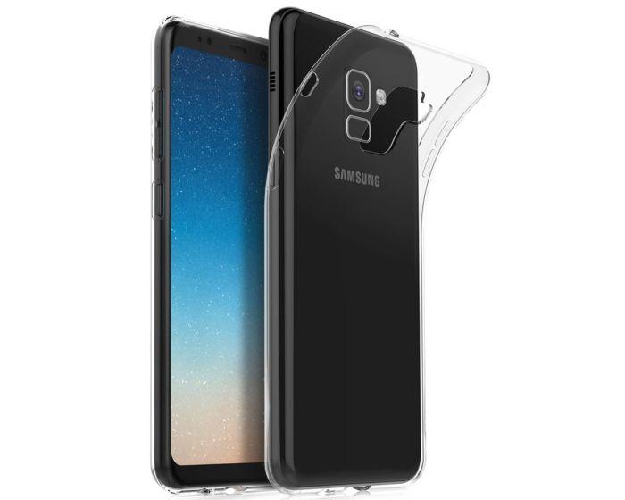 Ultra Slim 0.3mm Silicone Case Θήκη Σιλικόνης Διάφανο (Samsung Galaxy A8 2018)