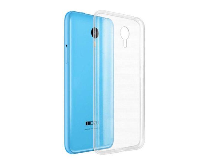 Ultra Thin 0.3mm Silicone Case Διάφανη (Meizu MX5)