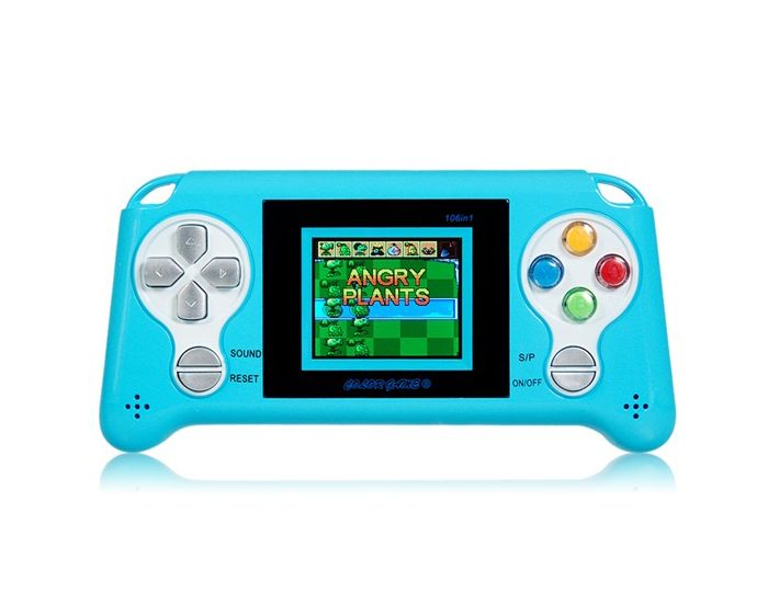 Portable Console Game (180 Games) Blue