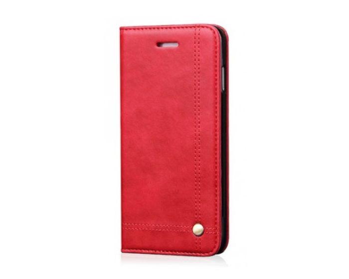 Forcell Prestige Book Case με Δυνατότητα Stand Θήκη Πορτοφόλι Κόκκινο (Huawei P9 Lite Mini)