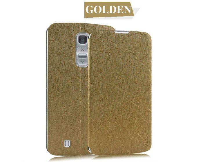 Flip Stand Case Pudini Θήκη Χρυσό (LG G Pro 2)