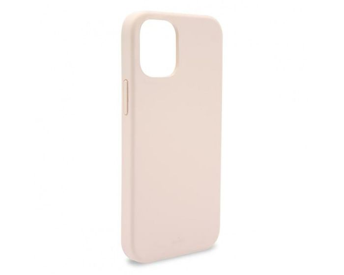 Puro Icon Soft Touch Silicone Case Rose Gold (iPhone 12 Pro Max)