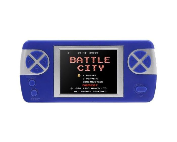 PYP Console Game with Rechargable Battery (400 Games) Blue