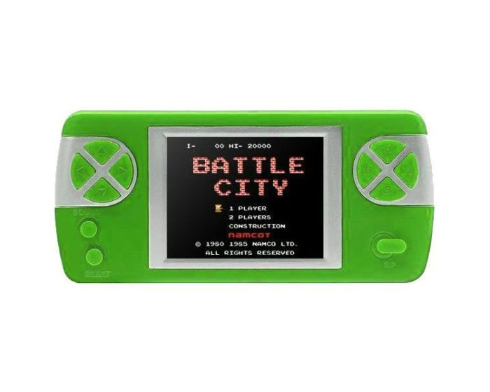 PYP Console Game with Rechargable Battery (400 Games) Green