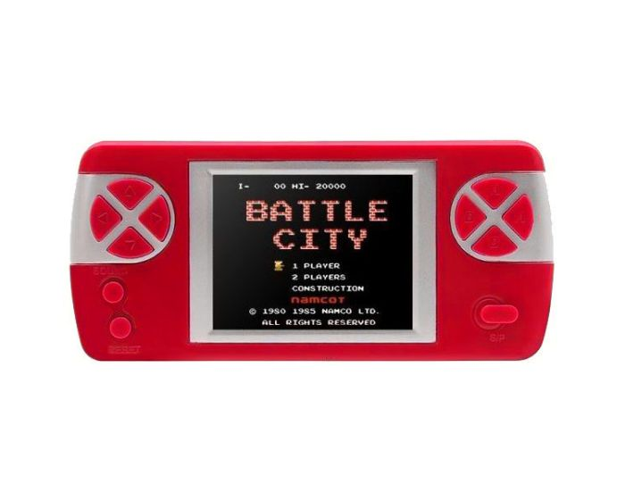 PYP Console Game with Rechargable Battery (400 Games) Red