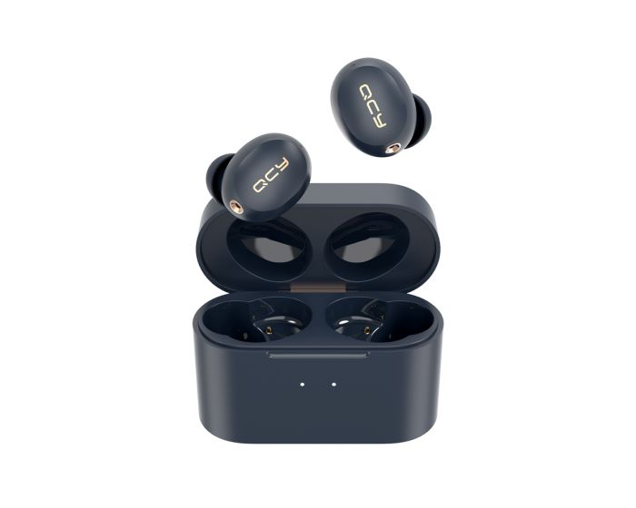 QCY HT01 TWS Wireless Bluetooth Earbuds with Charging Box - Black