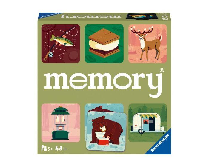 Ravensburger Επιτραπέζιο Μνήμης Memory (20359) Κάμπινγκ στη φύση
