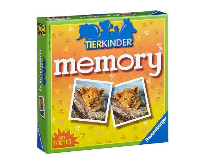 Ravensburger Επιτραπέζιο Μνήμης Memory (21275) Μικρα Ζωάκια