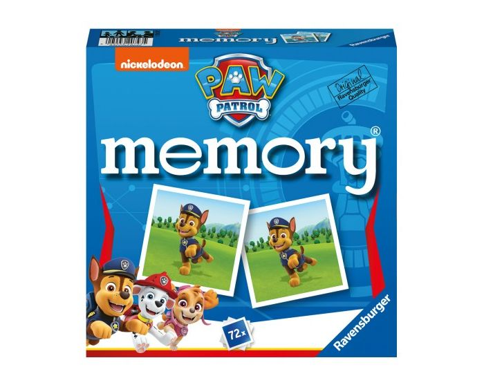 Ravensburger Επιτραπέζιο Μνήμης Memory (20743) Paw Patrol