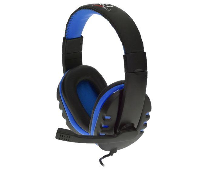 Rebeltec Revol Stereo Headphones Ενσύρματα Ακουστικά - Black