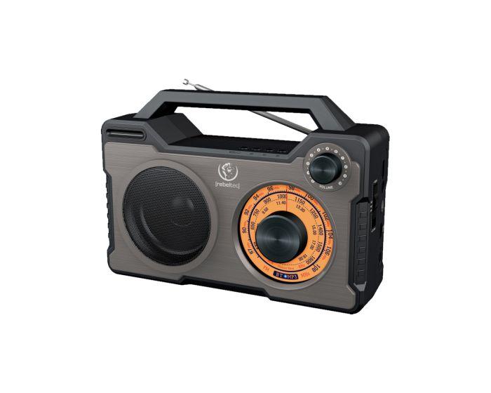REBELTEC RODOS Bluetooth Speaker 10W Ασύρματο Ηχείο - Black