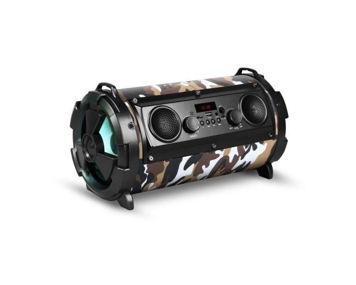 REBELTEC SoundTube 190 Bluetooth Speaker Φορητό (30W RMS) Ηχείο Bluetooth - Camo