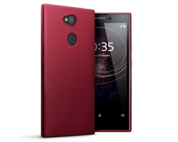 Terrapin Θήκη Σιλικόνης Slim Fit Silicone Case (118-005-427) Red (Sony Xperia L2)