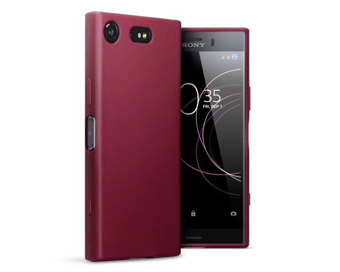 Terrapin Θήκη Σιλικόνης Slim Fit Silicone Case (118-005-407) Red Matte (Sony Xperia XZ1 Compact)