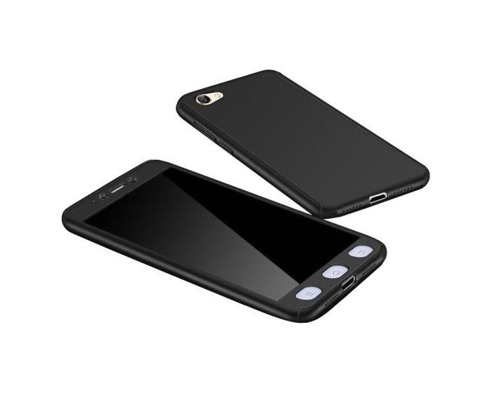 360 Full Cover Case & Tempered Glass - Black (Xiaomi Redmi 5A)