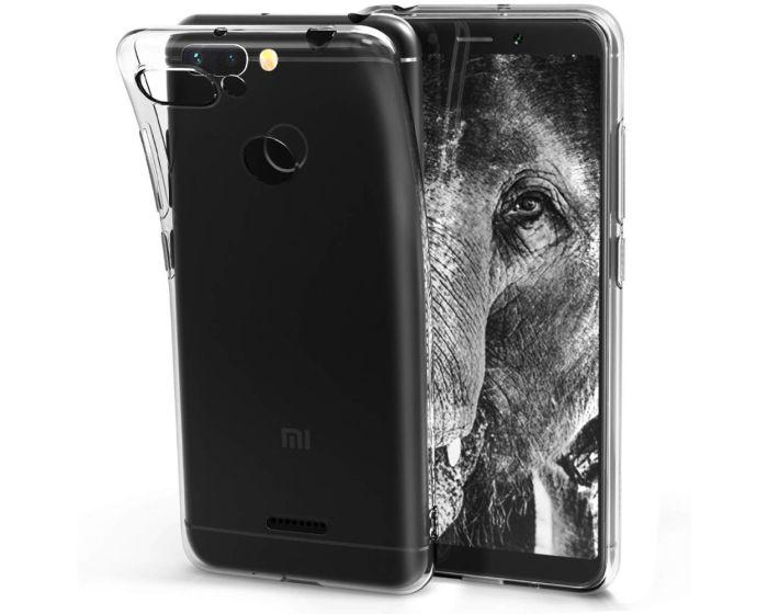 Ultra Slim 0.3mm Silicone Case Θήκη Σιλικόνης Διάφανο (Xiaomi Redmi 6)