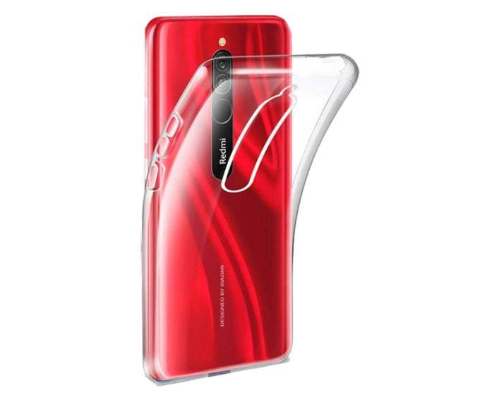 Ultra Slim 0.3mm Silicone Case Θήκη Σιλικόνης Διάφανο (Xiaomi Redmi 8)