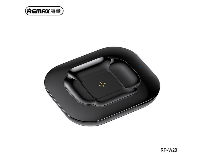 Remax Fonry Wireless Charger for AirPods 10W (RP-W20) Ασύρματος Φορτιστής AirPods - Black