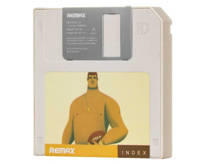 Remax Index RPP-17 Floppy Disk Power Bank White 5000mAh