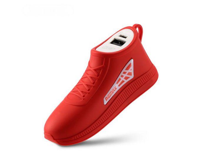 Remax Running Shoe Power Bank Red 2500mAh (RPL-57)