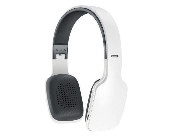 Remax Wireless Bluetooth Headphones 300mAh (RB-700HB) White