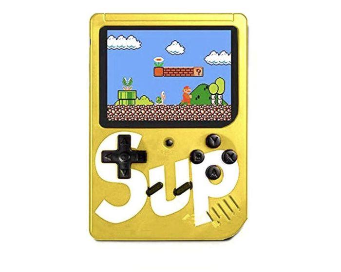 Retro Portable Mini Console Game (400 Games) Yellow