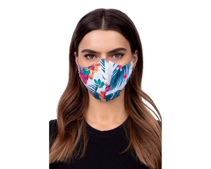 Reusable Profiled Face Mask Προστατευτική Μάσκα Προσώπου - Flower