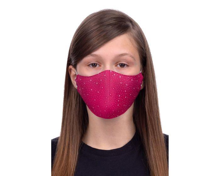 Reusable Profiled Face Mask for Kids 8-12 Παιδική Προστατευτική Μάσκα Προσώπου - Stars