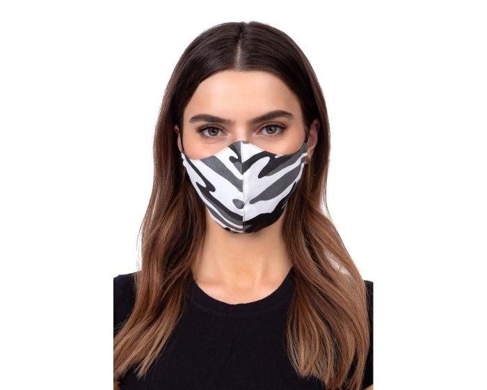 Reusable Profiled Face Mask Προστατευτική Μάσκα Προσώπου - Grey Camo
