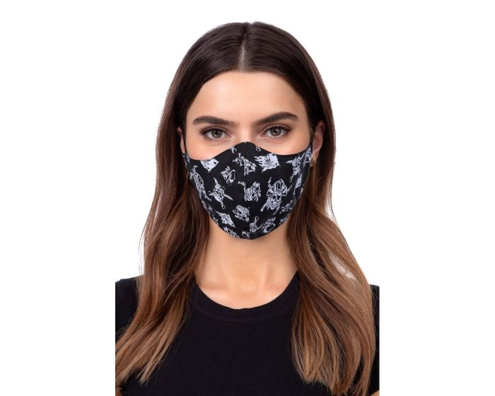Reusable Profiled Face Mask Προστατευτική Μάσκα Προσώπου - Pirate