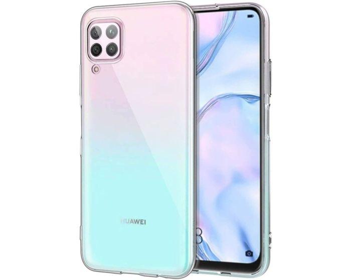 Reverse Reck TPU Silicone Case Clear (Huawei P40 Lite)
