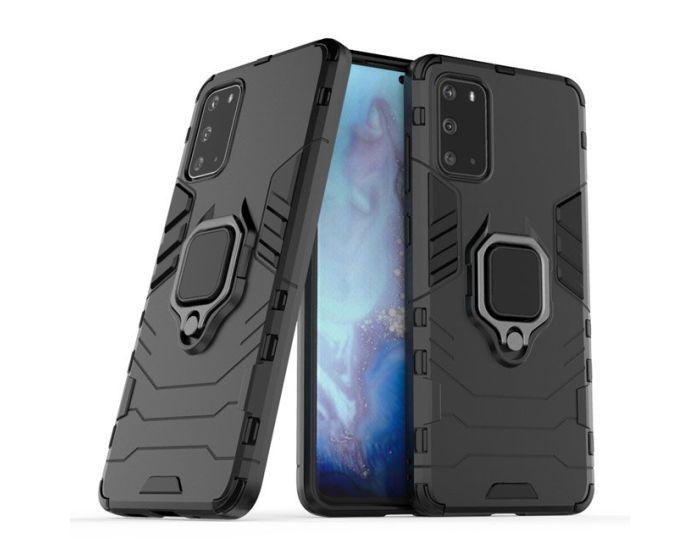Ring Armor Tough Rugged Case Ανθεκτική Θήκη με Kickstand - Black (Samsung Galaxy S20 Plus)