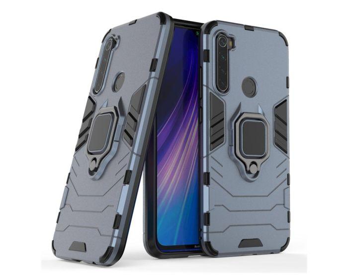 Ring Armor Tough Rugged Case Ανθεκτική Θήκη με Kickstand - Blue (Xiaomi Redmi Note 8T)