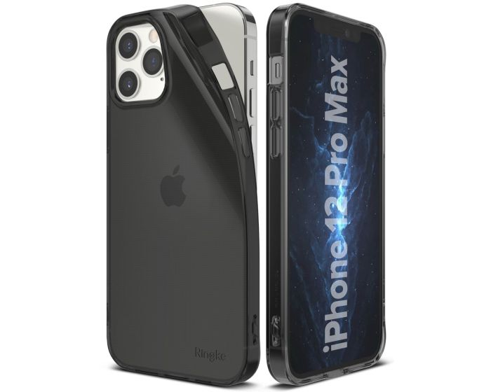 Ringke Air Θήκη Σιλικόνης Smoke Black (iPhone 12 Pro Max)