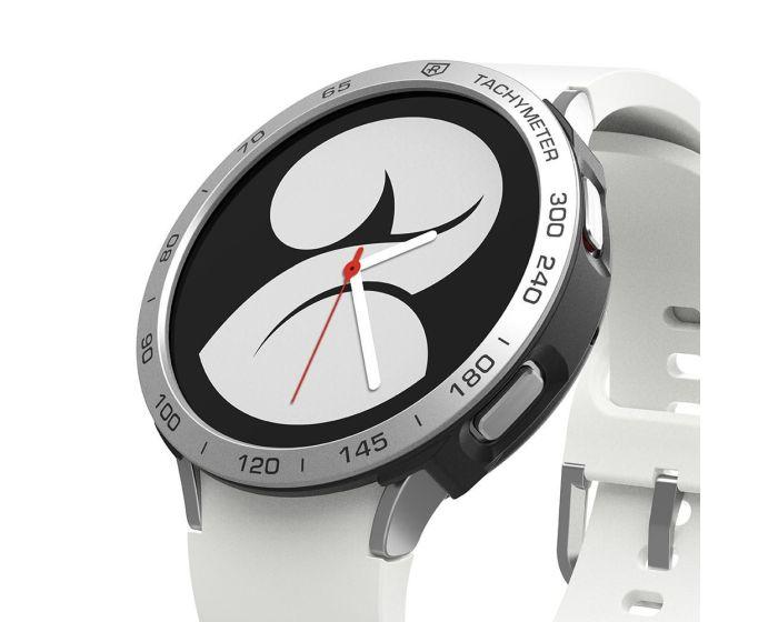 Ringke Air Sports Case + Bezel Ring (GW4-40-10) Aluminium Black / Silver (Samsung Galaxy Watch 4 40mm)