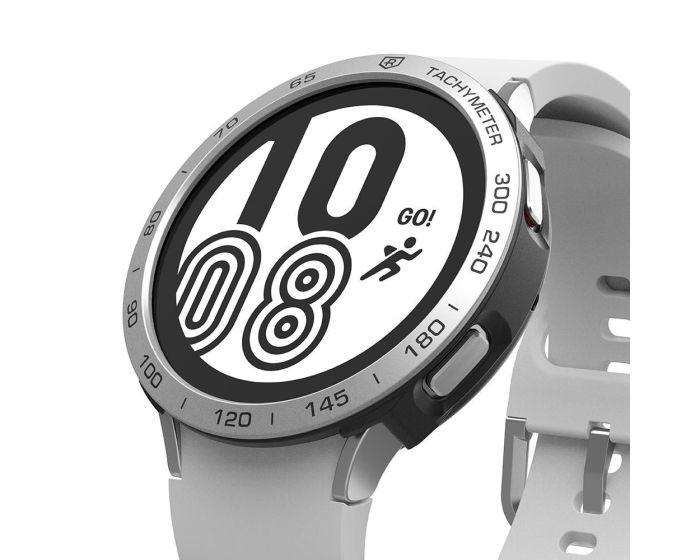 Ringke Air Sports Case + Bezel Ring (GW4-44-10) Aluminium Black / Silver (Samsung Galaxy Watch 4 44mm)