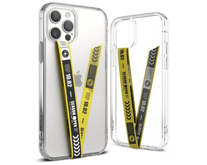 Ringke Band Strap Slim Microfiber Phone Strap Holder - Ticket Band Yellow
