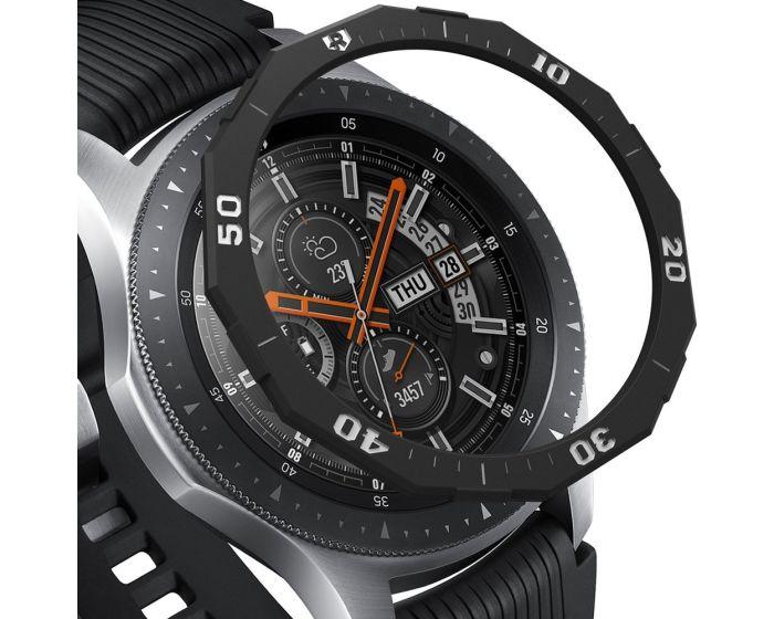 Ringke Bezel Ring (GW-46-46) Stainless Steel Black (Samsung Galaxy Gear S3 / Watch 46mm)