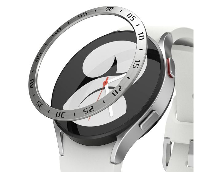 Ringke Bezel Ring (GW4-40-01) Stainless Steel Silver (Samsung Galaxy Watch 4 40mm)