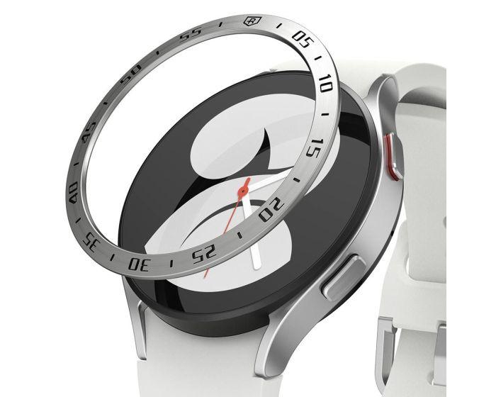 Ringke Bezel Ring (GW4-44-01) Stainless Steel Silver (Samsung Galaxy Watch 4 44mm)