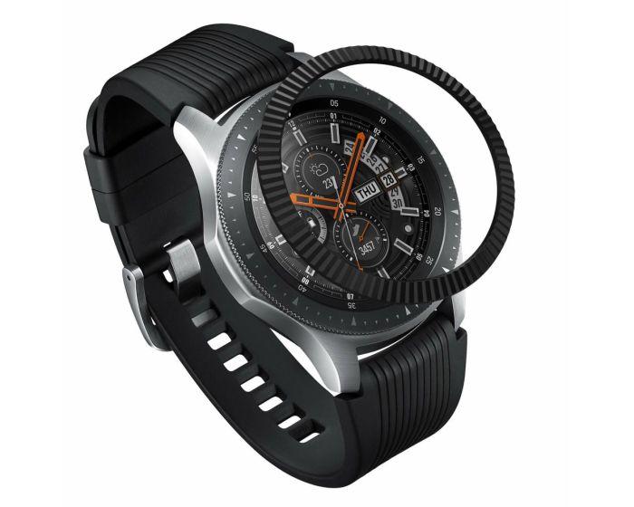 Ringke Bezel Ring (GW-46-05) - Stainless Steel Black (Samsung Galaxy Gear S3 / Watch 46mm)