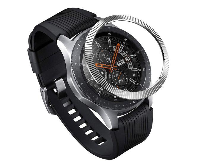 Ringke Bezel Ring (GW-46-12) - Stainless Steel Silver (Samsung Galaxy Gear S3 / Watch 46mm)