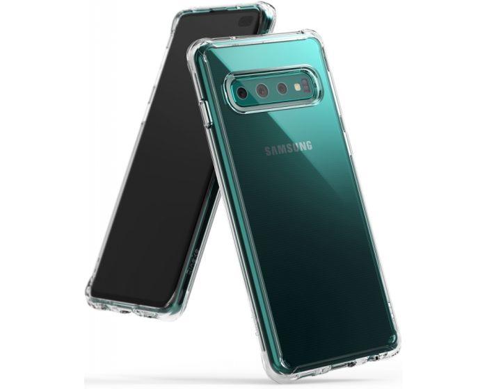 Ringke Fusion Σκληρή Θήκη με TPU Bumper (RGK834CL) Clear (Samsung Galaxy S10 Plus)