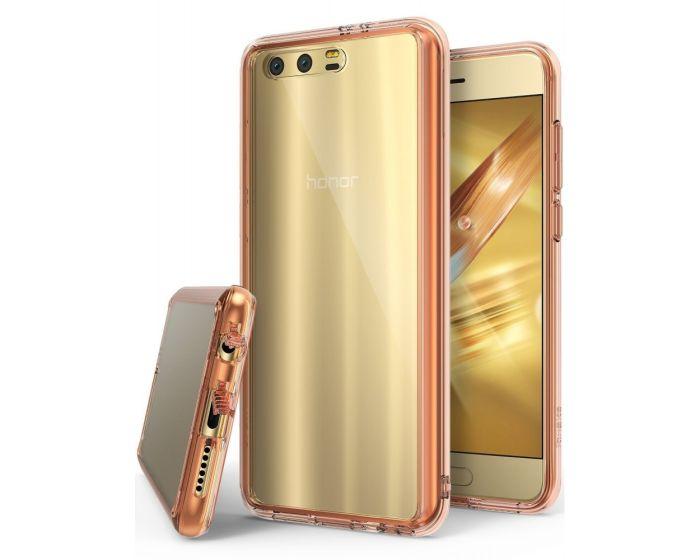 Ringke Fusion Σκληρή Θήκη με TPU Bumper Rose Gold (Huawei Honor 9)