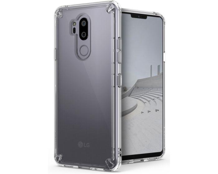 Ringke Fusion Σκληρή Θήκη με TPU Bumper Crystal View (LG G7 ThinQ)